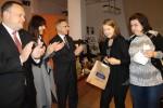 Daria Szczepańswka odbiera nagrodę główną - Złoty Kałamarz
