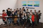 Na zdjęciu klasa III b Gimnazjum nr 1 w Wąbrzeźnie - 30.01.2017r.