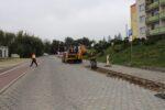 Wąbrzeźno. Drogowcy rozpoczęli roboty na ul. Generała Hallera - 8.10.2020 r. 2
